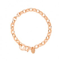 8 ROSE GOLD DANGLE BRACELET